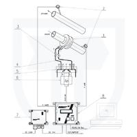 Měření tepla předaného vodou s měřením průtoku ve vratném potrubí clonovým měřičem