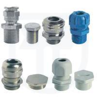 Příslušenství snímačů tlaku, souprav ventilových a ventilů Kabelové vývodky a zátky Ex d, Ex ia a standard