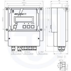 Převodník vodivosti pro měření koncentrace s elektrodovým snímačem ZEPACOND 800