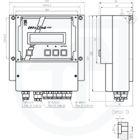 Převodník vodivosti pro měření koncentrace s indukčním snímačem ZEPACOND 800
