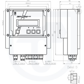 Převodník vodivosti pro měření vodivosti s elektrodovým snímačem ZEPACOND 800